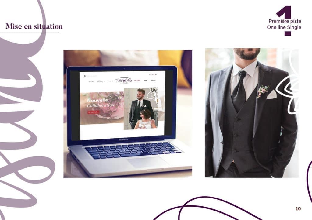Desig, mock up,mise en situation, web site, digital, époux marié , projet photographie portfolio