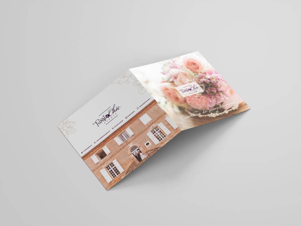 Plaquette extérieure, print, graphisme, design, charte graphique, identité visuelle, photographie