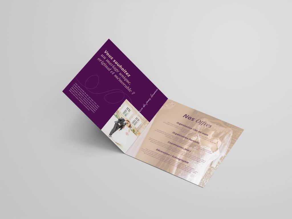Plaquette intérieure, print, graphisme, design, charte graphique, identité visuelle