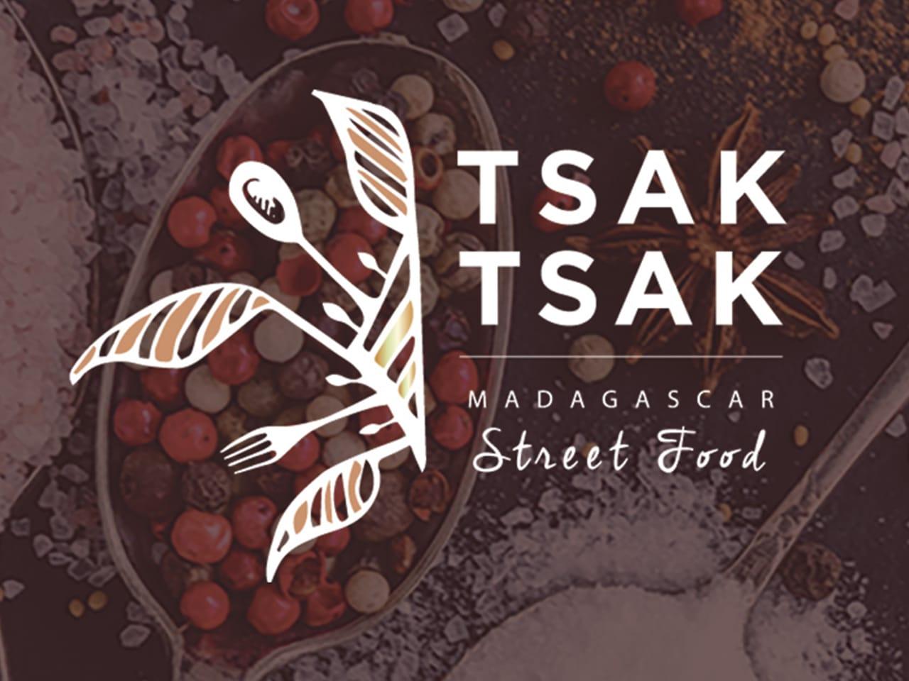 Logo Tsak Tsak Madagascar Street Food