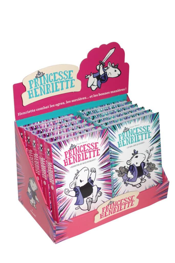 Création - Princesse Henriette - Editions Milan - livres jeunesse