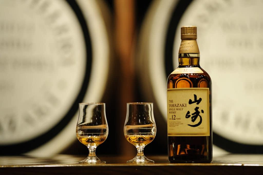 Photographie Wisky, boisson, Yamazaki, projet d'étude illustratif