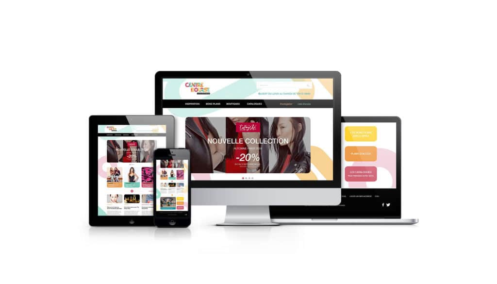 Site web, centre bourses, collection, digitale Marketing, Marketing, Communication Visuelle, Branding,