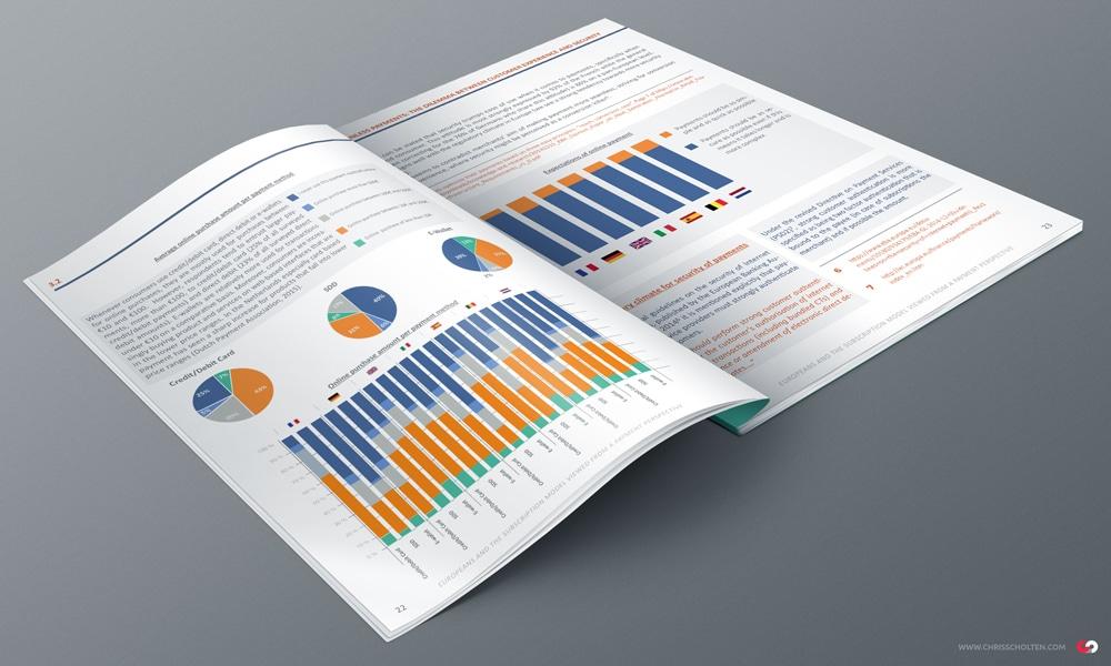 Le White Paper Project de Slimpay - Leader Européen économique - infographie la Graphiste Alizée Laurence