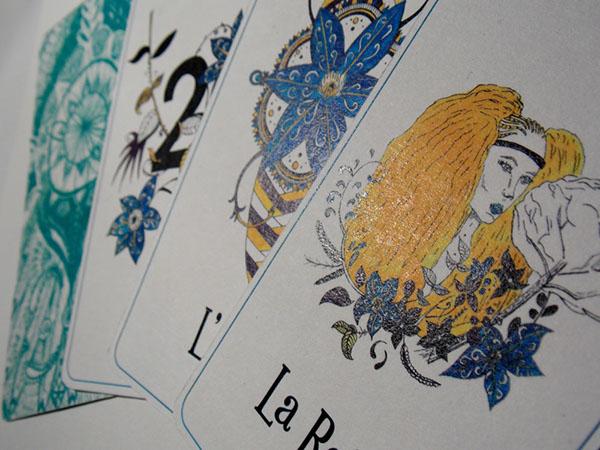 Jeu de carte - Oracle Tarot - Illustration par Alizée Laurence - Illustratrice