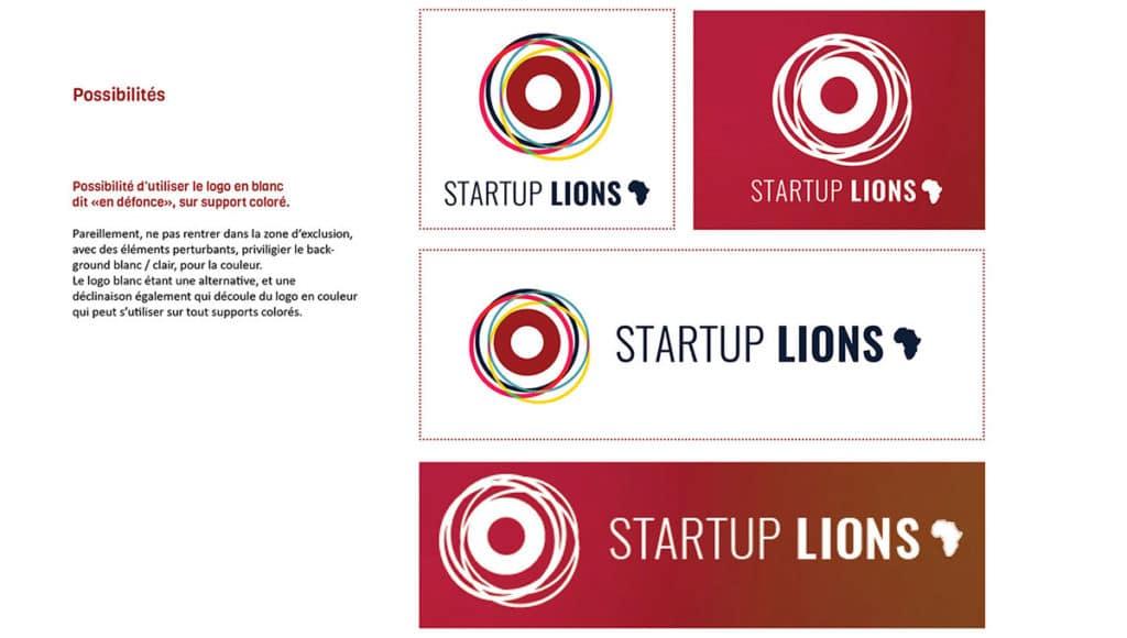 Start Up Lions - Graphiste Logo- entrepreneurs -