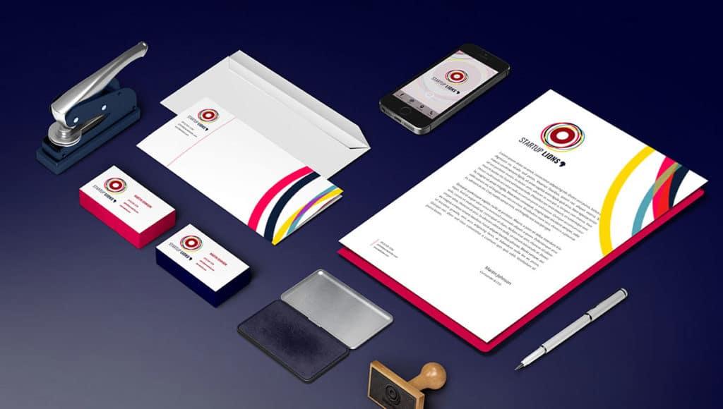 Papeterie - Charte Graphique - Start Up Lions entrepreneurs