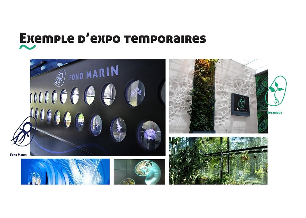 Exemple D'expo Temporaire - Quai des Savoirs Alizée Laurence - Graphiste