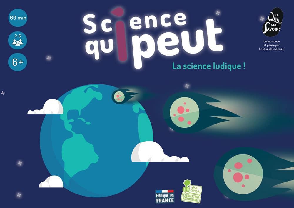 L'incontourable Jeu science qui peut - Quai des Savoirs - Alizée Laurence Graphiste