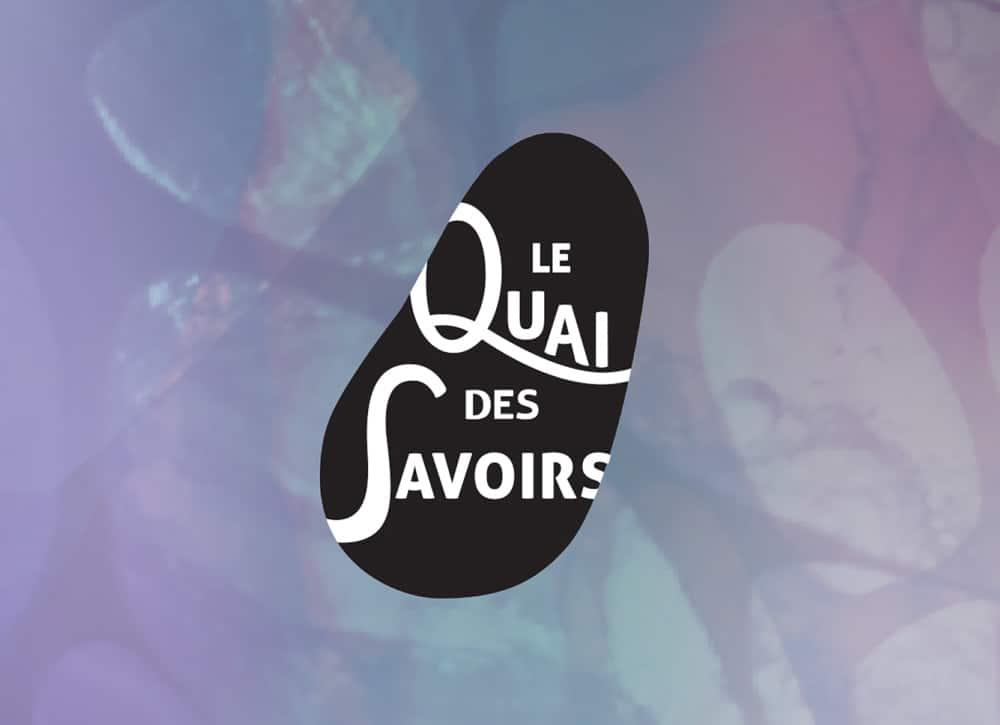 Quai des Savoirs Alizée Laurence - Graphiste logo