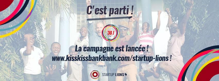 Bannière Crowndfunding - Start Up Lions Alizée Laurence